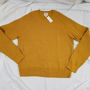 Brooks Brothers NWT Sweater XL Goldenrod